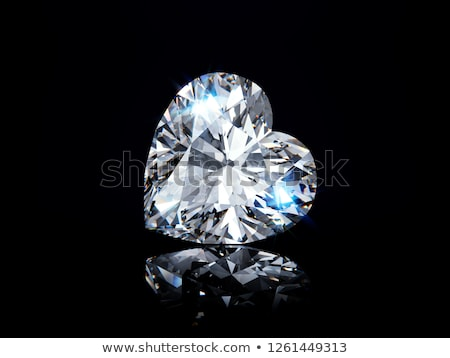 алмазов навсегда девушки Diamond кольца Сток-фото © gsermek