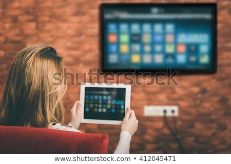 film · clavier · pc · modernes - photo stock © tashatuvango