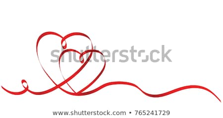 Two red hearts Stock photo © Lana_M