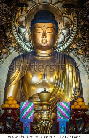 Buddha tempio kyoto Giappone Foto d'archivio © daboost