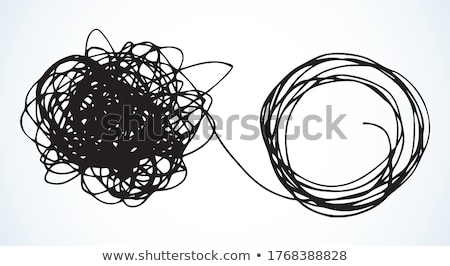 tangle of rope  Stock photo © OleksandrO