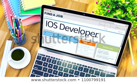IOS Developer Wanted. 3D. Stock photo © tashatuvango