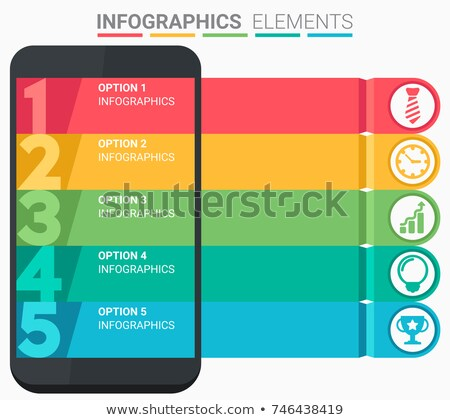 Vector illustratie business infographics moderne Stockfoto © Genestro