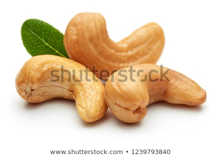 cashew nuts heap on white background Stock photo © ungpaoman