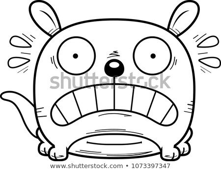 Cangur desen animat ilustrare uita Imagine de stoc © cthoman
