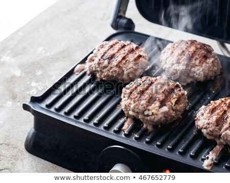 et · tavuk · elektrik · ızgara · gıda · arka · plan - stok fotoğraf © TanaCh