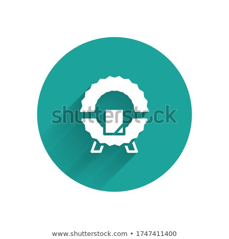 circle tomb icon vector sign stock photo © blaskorizov