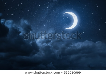 noc · wszechświata · niebo · star · Chmura · planety - zdjęcia stock © bluering