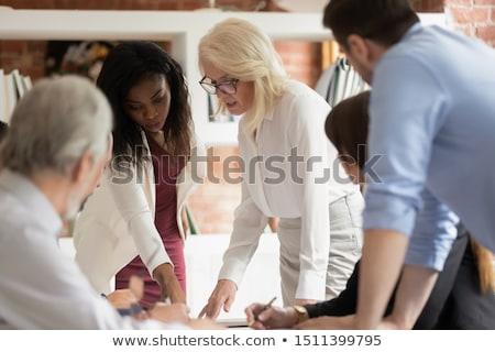 事業者 作業 一緒に オフィス チームワーク ビジネス ストックフォト © alphaspirit