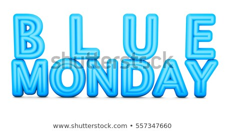 Blue Monday The Most Depressing Day Stock photo © ivelin