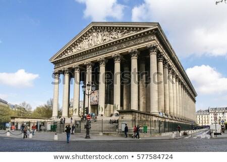 広い · 通り · パリ · 道路 · 美しい · アーキテクチャ - ストックフォト © hsfelix