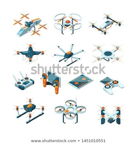 vector · ingesteld · technologie · tekening · grafische · vervoer - stockfoto © olllikeballoon