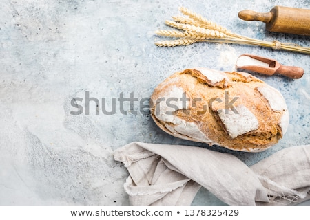 appetizing homemade bread stock photo © simply
