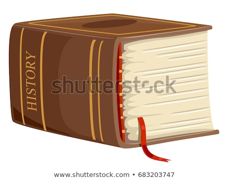 Thick Book History Illustration Stock photo © lenm
