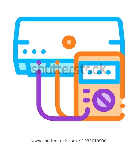 birim · ikon · gri · teknoloji · Sunucu · iletişim - stok fotoğraf © pikepicture