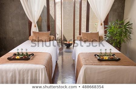 Massaggio stanza interni mobili indietro Foto d'archivio © robuart