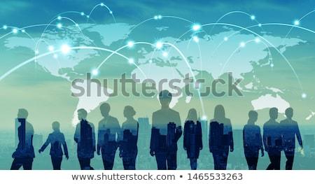 グローバル 市場 国際ビジネス 開発 3次元の図 ストックフォト © olivier_le_moal
