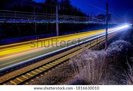 Railroad  Stock photo © grafvision