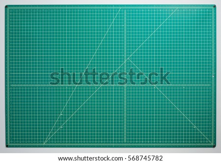 Cutting Mat and Knife Stock photo © devon