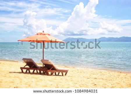 beach chair 04 Stock photo © LianeM