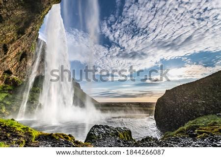 waterfall in the sun Stock photo © Nelosa