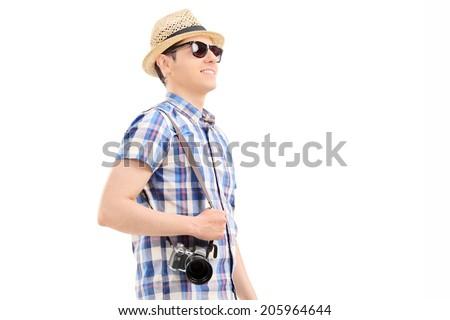 Sunglasses isolated against a white background Stock photo © ozaiachin