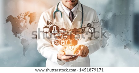 Public Health. Medical Concept. Stock photo © tashatuvango