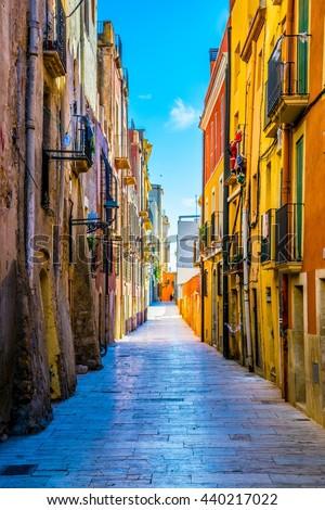 Architecture of Tarragona Stock photo © benkrut