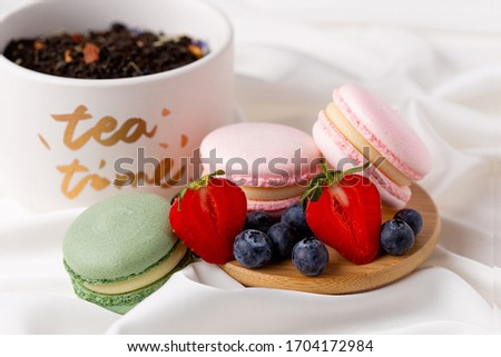 клубника · Cookies · пластина · продовольствие · фон - Сток-фото © tycoon