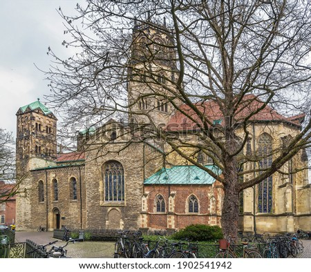 St. Ludgeri church, Munster, Germany Stock photo © borisb17