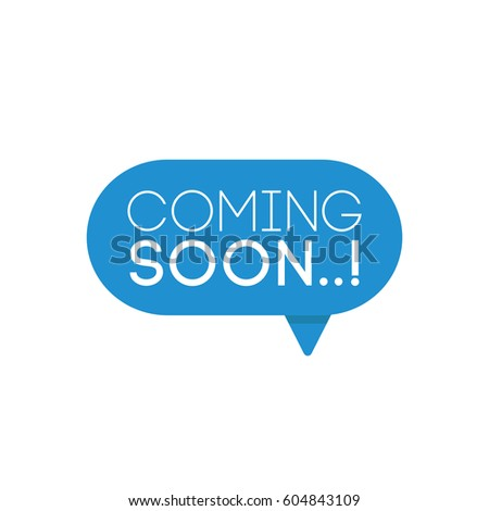 Binnenkort chatten bubble vorm ontwerp web chat Stockfoto © SArts