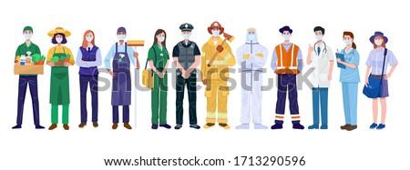 Trabajador jóvenes blanco feliz cuerpo Foto stock © zittto