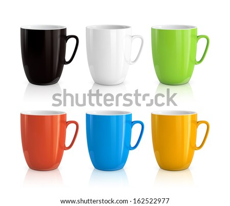 gekleurd · ingesteld · achtergrond · groene · drinken · Rood - stockfoto © hofmeester