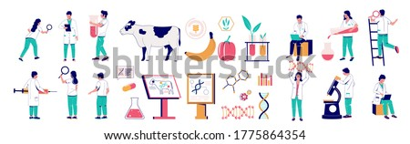 Genetically modified animals concept vector illustration. Stock photo © RAStudio
