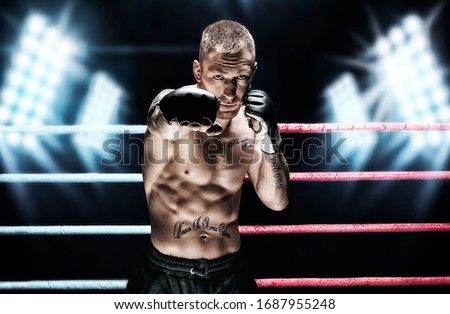 UFC Fighter Stock photo © Lopolo