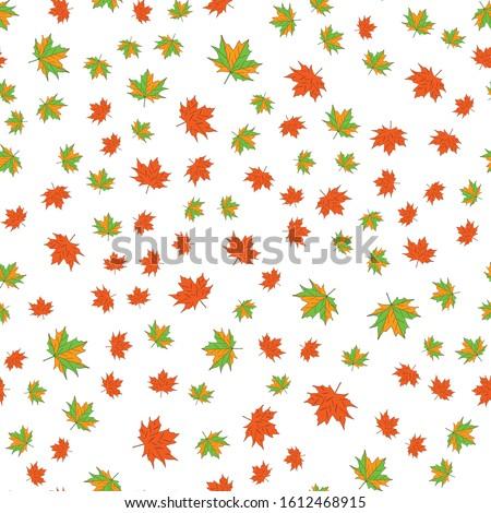 秋 メイプル 葉 シート 水彩画 テクスチャ ストックフォト © kostins