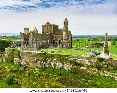 Rock of Cashel, Ireland Stock photo © borisb17