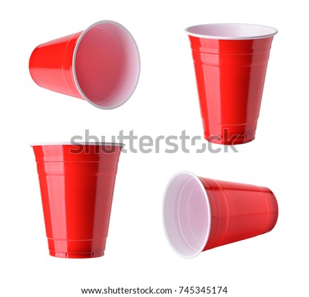 Red cup Stock photo © Stocksnapper