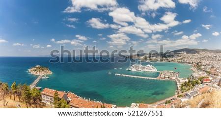 Panorama of Kusadasi Stock photo © grafvision