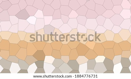 abstract low polu banner with vibrant color shade Stock photo © SArts