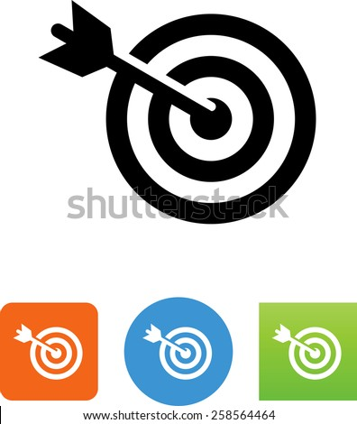 Target Audience Vector Glyph Icon Stock photo © smoki