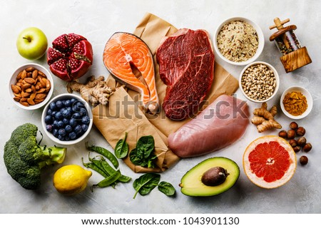 Meat and vegetables Stock photo © AGorohov
