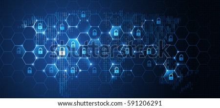 data protection button on the keyboard keys stock photo © fotoscool