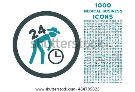 Hordár puha kék színek ikon szimbólum Stock fotó © ahasoft