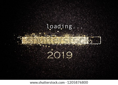 New Year 2019 Loading Concept Stock photo © ivelin