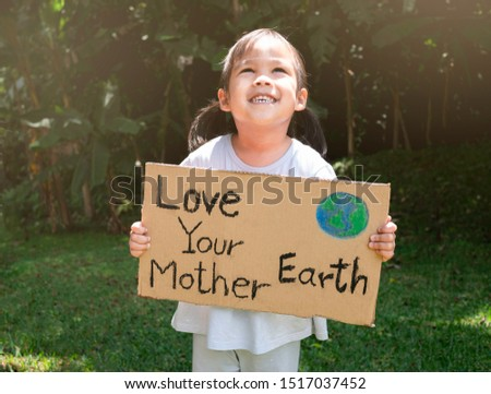 A poster showing the love of Earth Stock photo © colematt