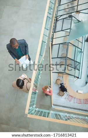 View imprenditore piedi guardando Foto d'archivio © wavebreak_media