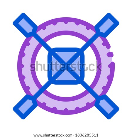 non impeller tire icon vector outline illustration Stock photo © pikepicture