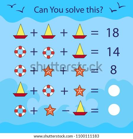 educational game answer  sudoku Stock photo © Olena