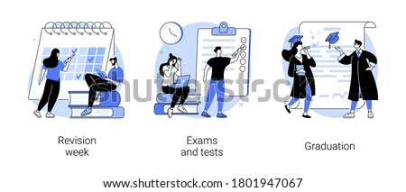 Student activism abstract concept vector illustration. Stock photo © RAStudio